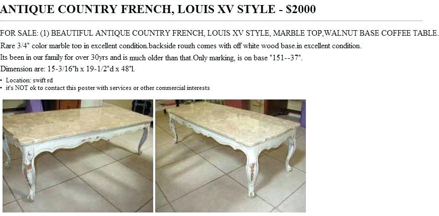 Magnificent Wellknown Country French Coffee Tables Throughout Coffee Table French Country Coffee Tables Fotersmall Table Book (Image 41 of 50)