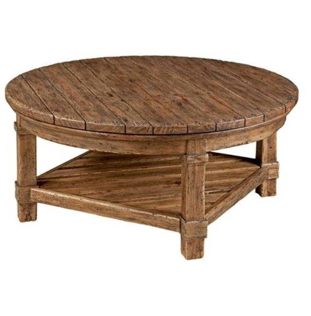 Magnificent Wellknown Elegant Rustic Coffee Tables Pertaining To Perfect Round Rustic Coffee Table Diy Round Rustic Coffee Table (View 18 of 40)