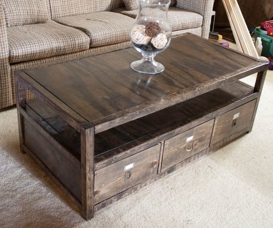Magnificent Well Known Large Coffee Tables With Storage In Wonderful Wood Coffee Table With Storage Rustic Coffee Tables With (Image 38 of 50)