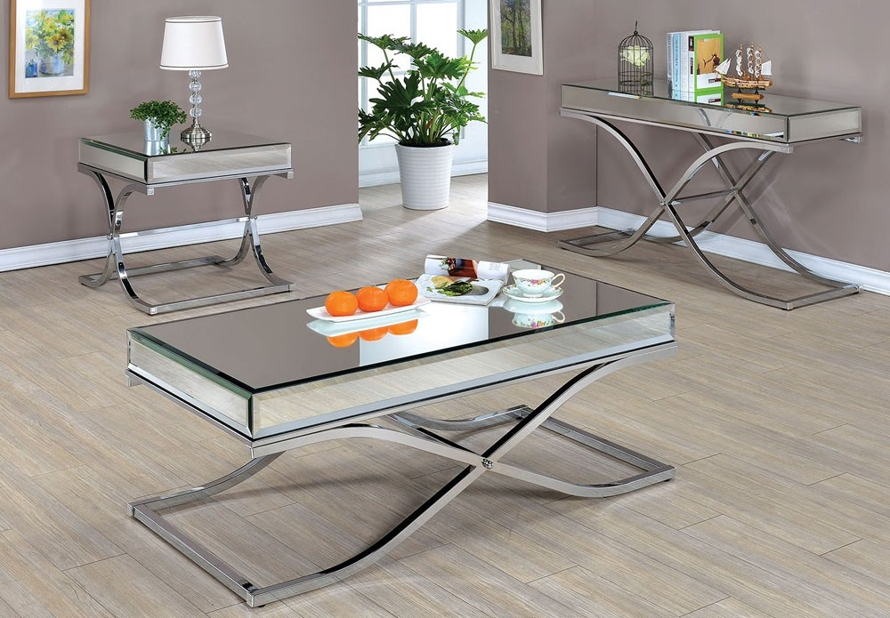 Magnificent Wellknown Mirrored Coffee Tables Within Mirrored Coffee Table Mirrored Coffee Table Designs And Buying (Image 35 of 50)