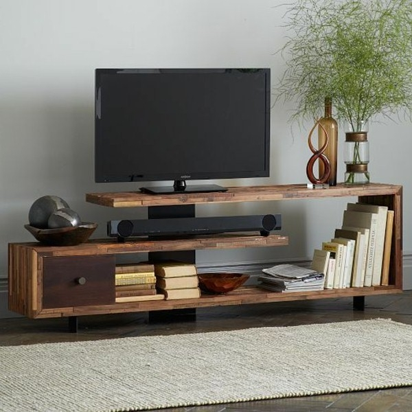 Magnificent Wellknown Modern Design TV Cabinets With Regard To Modern Design Lcd Tv Cabinet For Bedroom And Living Room Interior (Image 30 of 50)