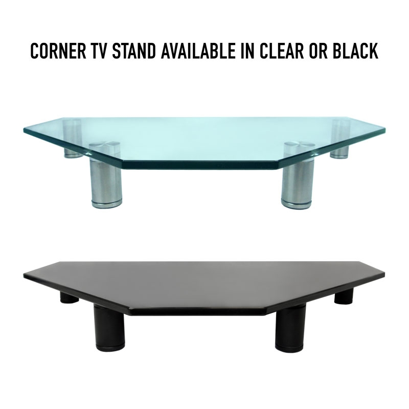 Magnificent Well Known Oval Glass TV Stands In Corner Tv Stand Adjustable Tv Stand For Desktop I Black I Av (View 34 of 50)