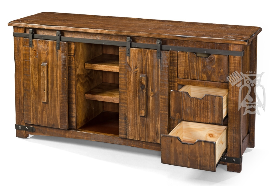 Magnificent Well Known Pine Wood TV Stands Throughout Hoot Judkins Furnituresan Franciscosan Josebay Areaartisan (Image 36 of 50)