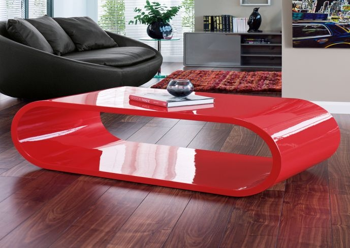 Charmant Magnificent Wellknown Red Gloss Coffee Tables With Regard To Modern Red  Coffee Table Coffee Tables Table