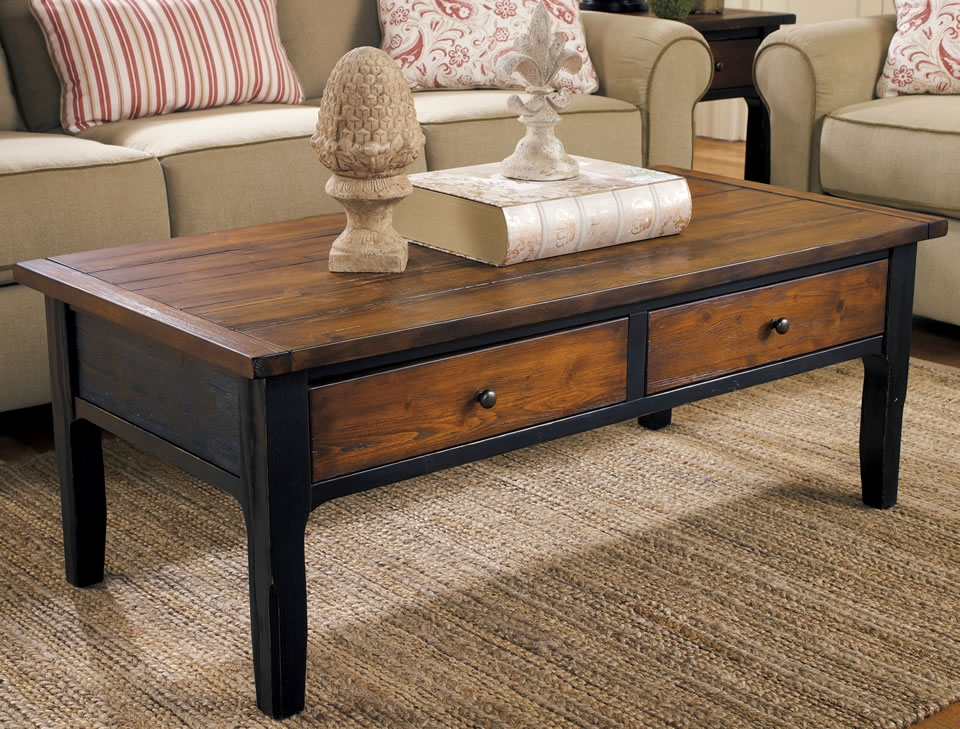 Magnificent Well Known Round Coffee Tables With Drawer Pertaining To Living Room Table With Drawers Living Room Table With Drawers (Image 36 of 50)