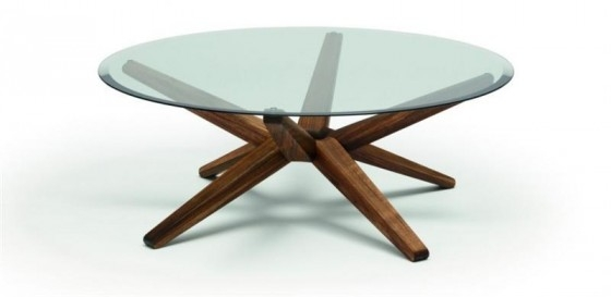 Magnificent Wellknown Round Glass And Wood Coffee Tables Intended For Glass And Wood Coffee Tables (Image 36 of 50)