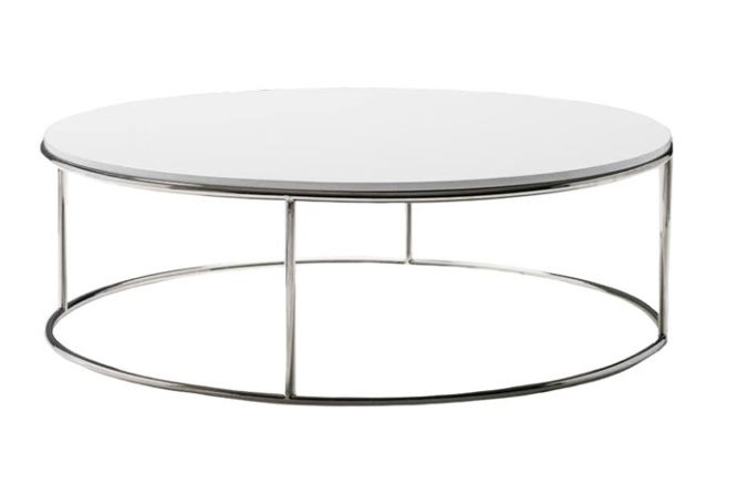 Magnificent Well Known Round High Gloss Coffee Tables Pertaining To Round High Gloss Coffee Table Home Staging Furniture Rental (View 45 of 50)