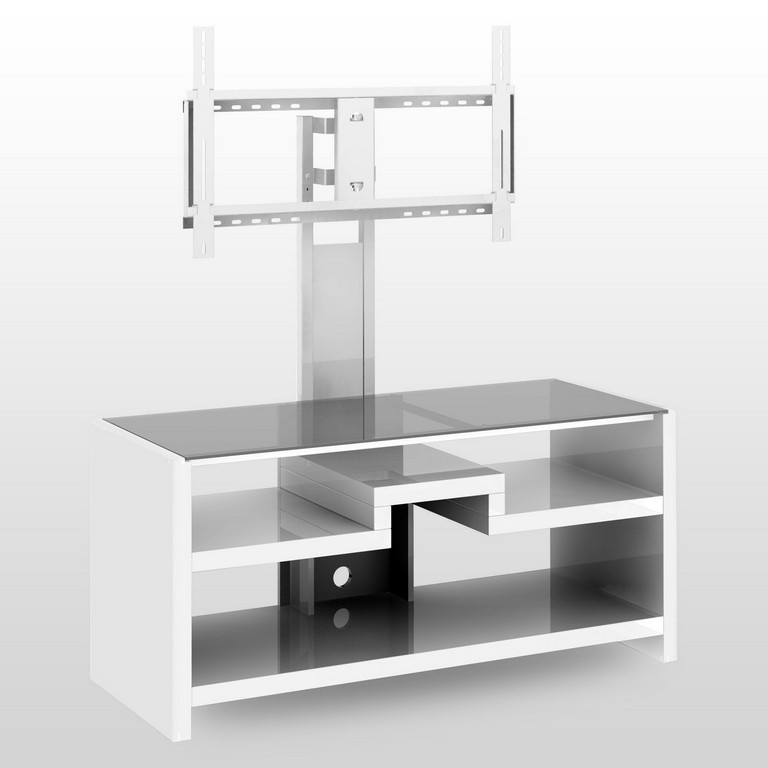 Magnificent Wellknown Small White TV Cabinets With Regard To Small Glass Tv Stand (Image 32 of 50)