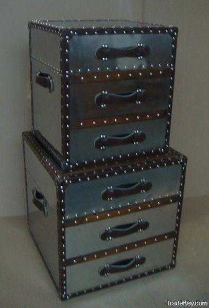 Magnificent Well Known Steamer Trunk Stainless Steel Coffee Tables Intended For Stainless Steel Steamer Trunks Coffee Table Fuzhou Zhijian (View 2 of 50)