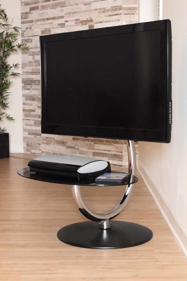 Magnificent Wellknown Swivel Black Glass TV Stands Regarding 17 Best Tv Stands Swivel Images On Pinterest Tv Stands Swivel (View 2 of 50)