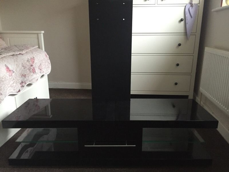 Magnificent Well Known Techlink Echo Ec130tvb TV Stands With Regard To Techlink Echo Ec130tvb Tv Stand In Huntingdon Cambridgeshire (Image 35 of 50)