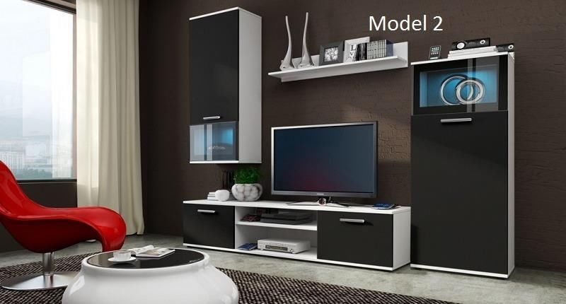 Magnificent Well Known TV Cabinets And Wall Units Inside Modern Tv Wall Units Furniture Design Modern Set Of Living Room (Image 39 of 50)