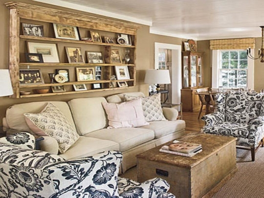 Magnificent Wellknown White Cottage Style Coffee Tables Inside Rustic Cottage Style Living Rooms Table White Sofa Greyish (View 50 of 50)