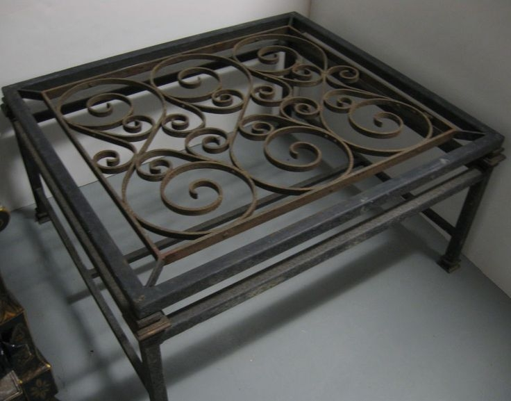 Magnificent Wellknown Wrought Iron Coffee Tables Within Best 25 Iron Coffee Table Ideas On Pinterest Glass Coffee (View 26 of 50)