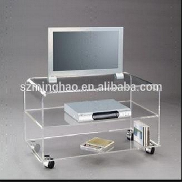 Magnificent Wellliked Acrylic TV Stands For High Quality Transparent Acrylic Living Room Furniture Tv Stands (Image 36 of 50)