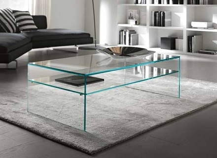 Magnificent Wellliked All Glass Coffee Tables Pertaining To All Glass Coffee Table Jerichomafjarproject (Image 37 of 50)