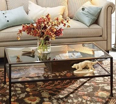Magnificent Wellliked Antique Glass Pottery Barn Coffee Tables With Pottery Barn Glass Coffee Table Simple On Glass Coffee Table And (View 47 of 50)