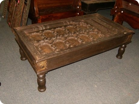 Magnificent Wellliked Elephant Coffee Tables Regarding Antique Elephant Coffee Table South Seas Trading (Image 42 of 50)