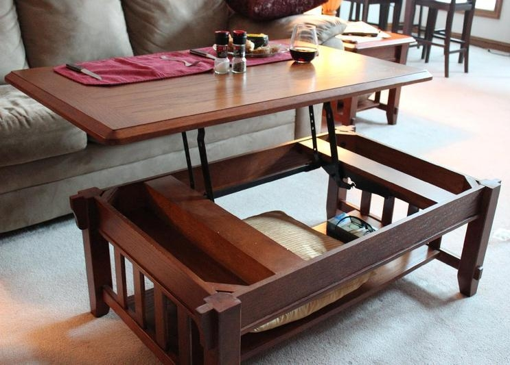 Magnificent Wellliked Flip Up Coffee Tables For Helpful Pop Coffee Table (Image 35 of 50)