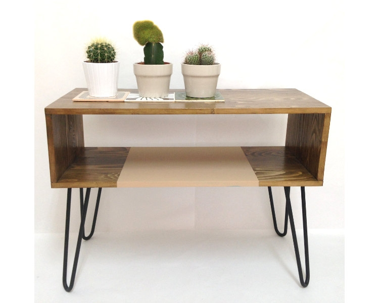 Magnificent Wellliked Hairpin Leg TV Stands In Hairpin Leg Desk Console Table Coffee Table Midcentury Modern (Image 36 of 50)
