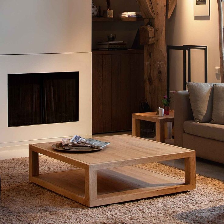 Magnificent Wellliked Low Square Wooden Coffee Tables Throughout 16 Best Coffee Table Ideas Images On Pinterest Oak Coffee Table (Image 38 of 50)