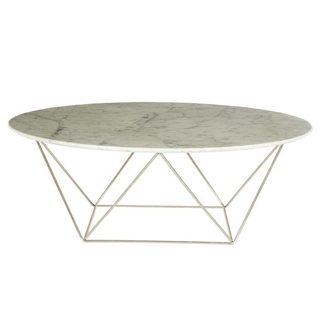 Magnificent Wellliked Marble Round Coffee Tables For Como Marble Round Coffee Table The Block Shop (View 25 of 50)