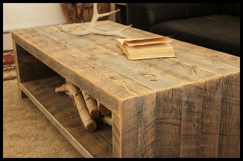 Magnificent Wellliked Rustic Barnwood Coffee Tables In Living Room The Most Wonderful Barn Wood Coffee Table Barnwood (View 17 of 50)