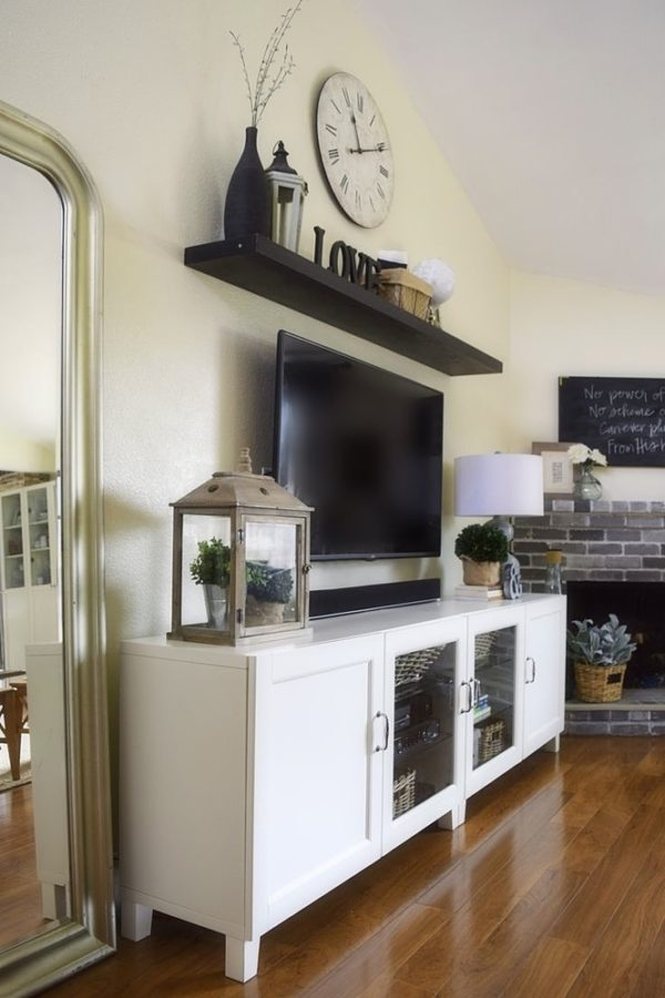 Magnificent Wellliked TV Stands With Storage Baskets Regarding Tv Stand With Wicker Basket Storage The Best Basket In The World (Image 32 of 50)