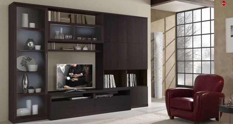 Magnificent Wellliked Wenge TV Cabinets With Regard To Built In Wall Units For Dining Room Furniture Awesome Design For (Image 37 of 50)