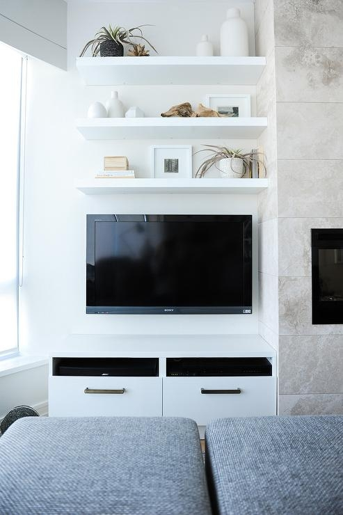 Magnificent Wellliked White TV Cabinets Inside White Tv Cabinets Design Ideas (Image 39 of 50)
