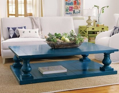 Magnificent Widely Used Blue Coffee Tables Intended For Navy Blue Coffee Table (Image 41 of 50)