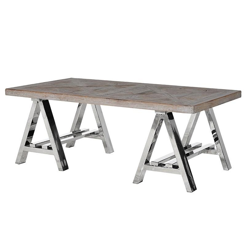 Magnificent Widely Used Chrome And Wood Coffee Tables For Living Coffee Tables Mulberry Moon (View 45 of 50)