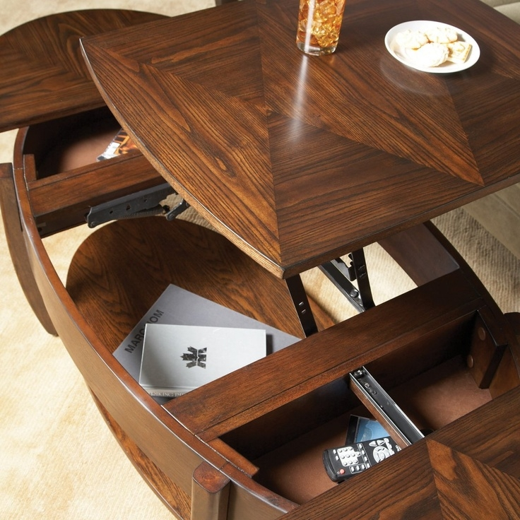 Magnificent Widely Used Elevating Coffee Tables Regarding 69 Best Table Images On Pinterest Lift Top Coffee Table (Image 34 of 50)