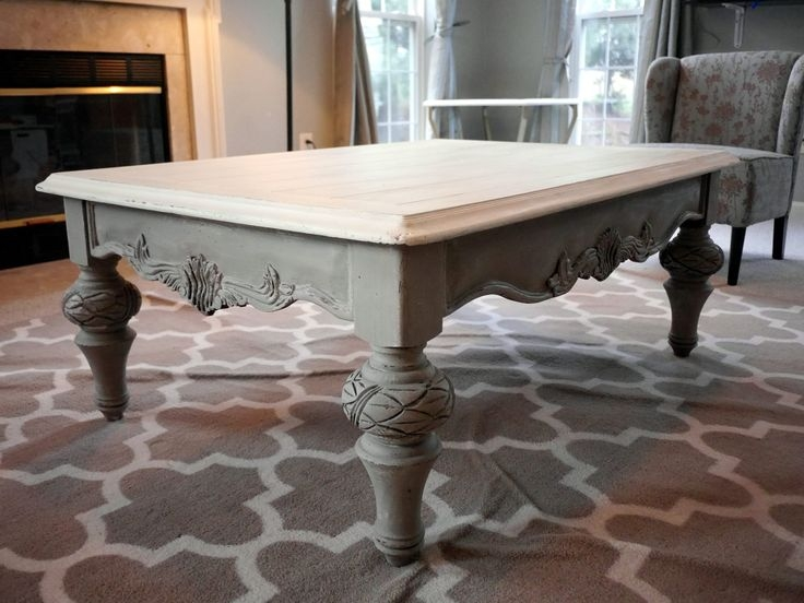 Magnificent Widely Used French White Coffee Tables Regarding 290 Best Ascp French Linen Images On Pinterest Chalk Painting (Image 43 of 50)
