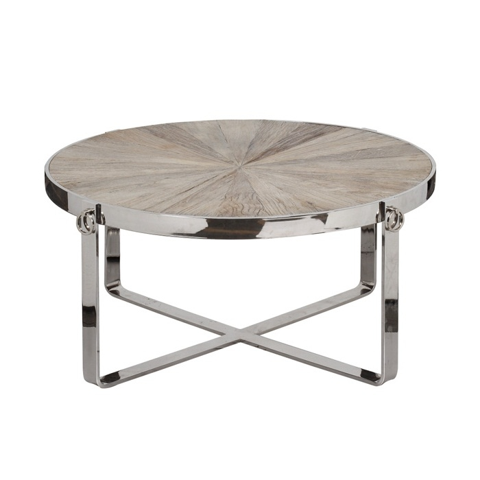 Magnificent Widely Used Glass And Chrome Coffee Tables Within Round Glass And Chrome Coffee Table (Image 39 of 50)