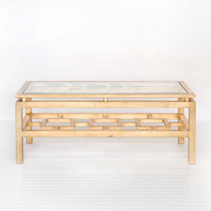 Magnificent Widely Used Glass Gold Coffee Tables With Oval Gold Coffee Tables Lillian August Lillian August Logan (View 21 of 50)