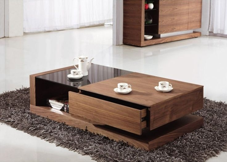 Magnificent Widely Used Low Rectangular Coffee Tables Regarding 47 Best Center Tables Images On Pinterest Tables Modern Coffee (View 41 of 50)