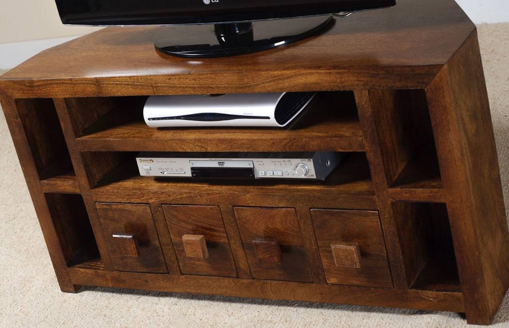 Magnificent Widely Used Mango TV Stands Pertaining To Mango Wood Tv Stand The Natural Appeal Modern Beautiful House (View 19 of 50)