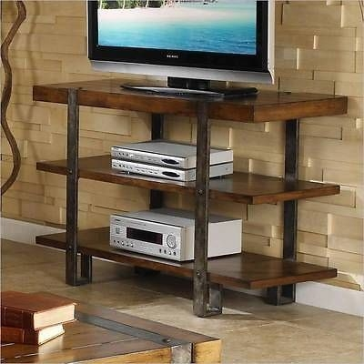 Magnificent Widely Used Metal And Wood TV Stands With Regard To 71 Best Mueble Tv Images On Pinterest (Image 41 of 50)