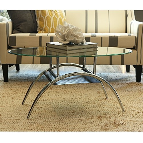 Magnificent Widely Used Metal Oval Coffee Tables In Oval Coffee Table Metal Amazon (View 44 of 50)