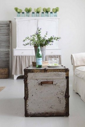 Magnificent Widely Used Old Trunks As Coffee Tables With Regard To Distressed Trunk Coffee Table Foter (Image 39 of 50)