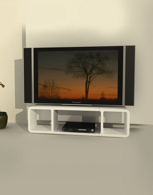Magnificent Widely Used Slim TV Stands Intended For Tm3 Slim Low Profile Tv Stand Expand (Image 41 of 50)