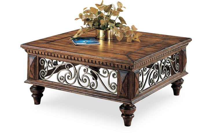 Magnificent Widely Used Square Coffee Tables Throughout Square Coffee Table Plateau Tcs Square Coffee Table In Black On (Image 39 of 50)