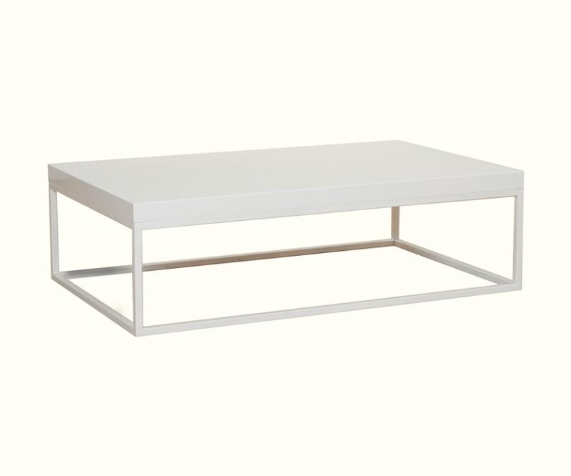 Magnificent Widely Used White And Chrome Coffee Tables In Temahome Prairie Rectangular Coffee Table In Walnut (View 10 of 50)