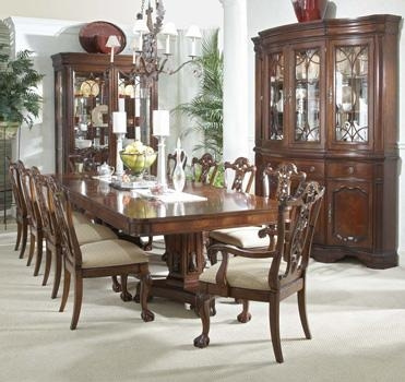 Mahogany And More Table And Chair Sets – Heritage Mahogany 13 Throughout Mahogany Dining Tables Sets (Image 16 of 20)