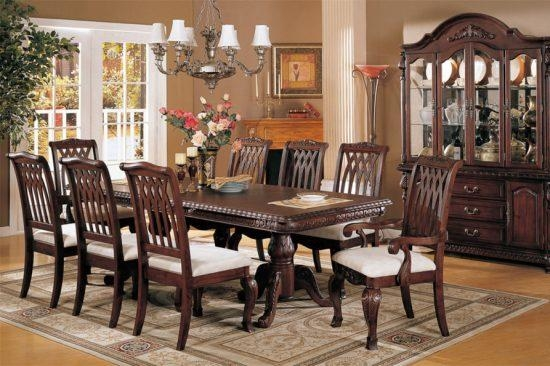 Mahogany Dining Room Furniture; A Timeless Beauty With An Imperial Pertaining To Imperial Dining Tables (Image 18 of 20)