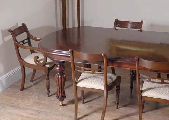 Mahogany Dining Sets Throughout Mahogany Dining Table Sets (Image 16 of 20)