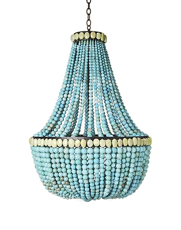 Featured Image of Turquoise Gem Chandelier Lamps