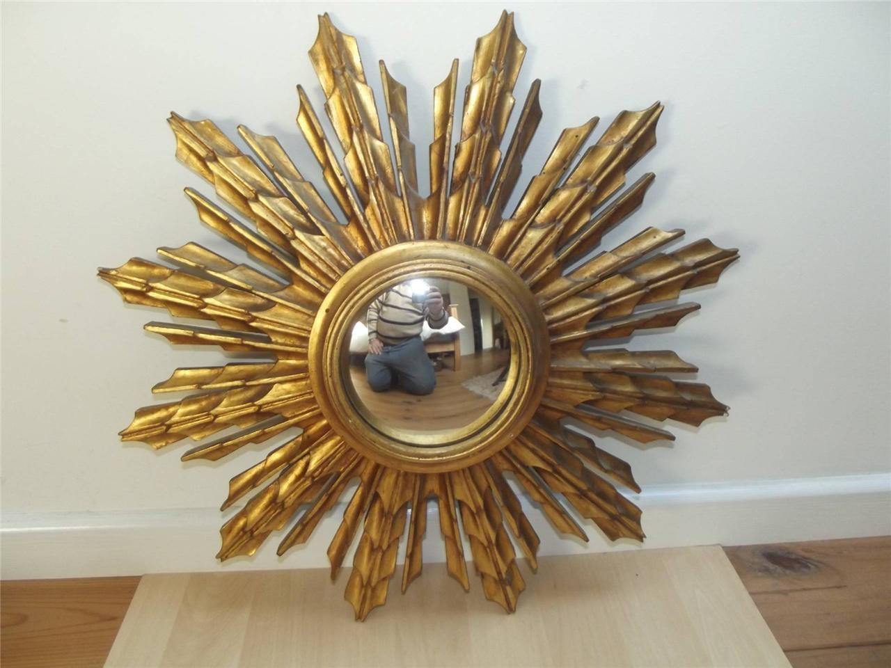 Make A Vintage Starburst Mirror — Interior Home Design Intended For Bronze Starburst Mirror (Image 11 of 21)