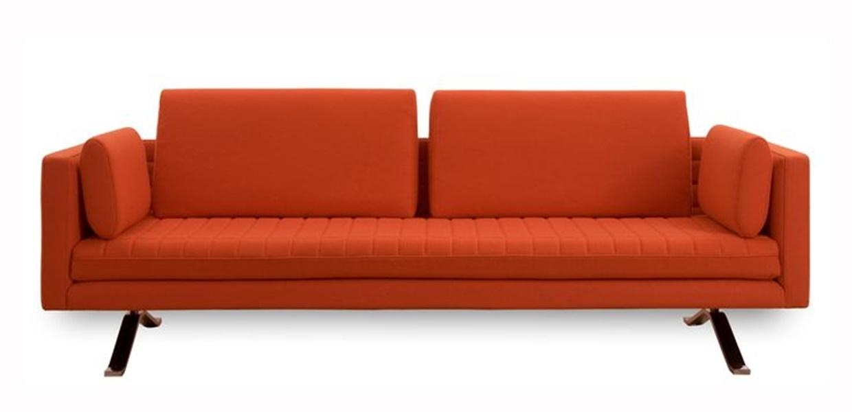 Making Sofa Look Mid Century Modern Couch | Tedxumkc Decoration With Regard To Orange Modern Sofas (Image 9 of 20)